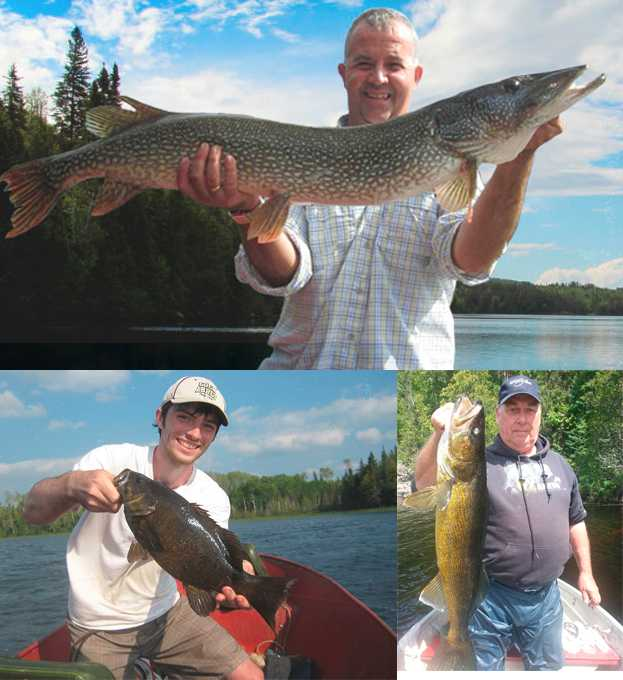 Fishing Collage Lost Lake Wilderness Lodge