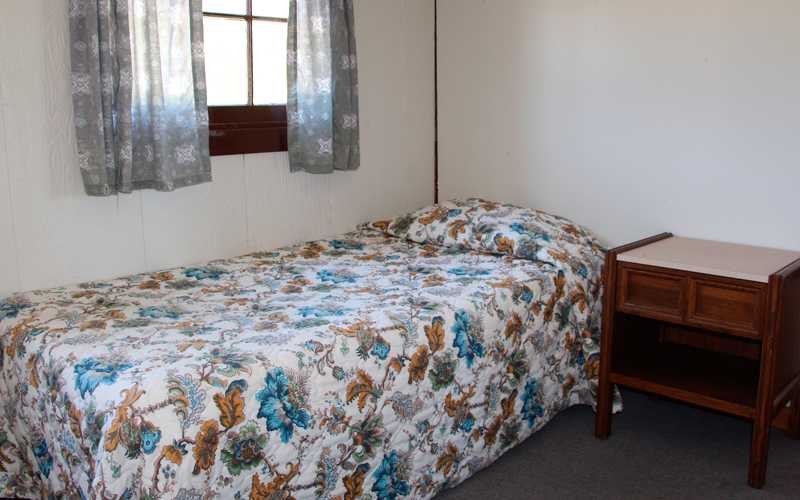 Cabin Bedroom with Single Bed