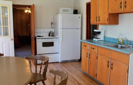 Fully Equipped Cabin Kitchen