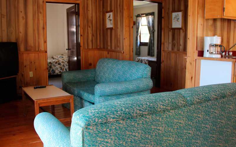 Cabin Living Area